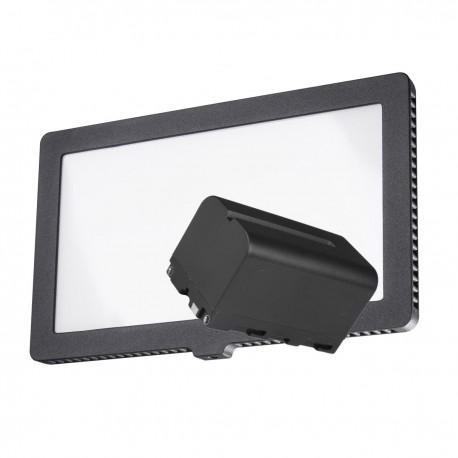 LED панели - walimex pro LED Square 200 with akku - быстрый заказ от производителя