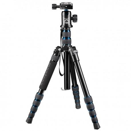 Штативы для фотоаппаратов - mantona travel tripod DSLM with ball head, blue - быстрый заказ от производителя
