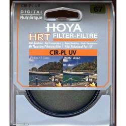 Objektīvu filtri - Hoya HRT 58mm CIR-PL UV polarizācijas filtrs - perc veikalā un ar piegādi