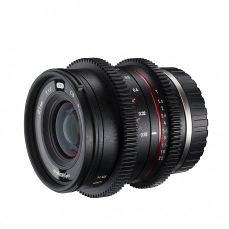 Lenses - walimex pro 21/1,5 Video APS-C Fuji X - quick order from manufacturer