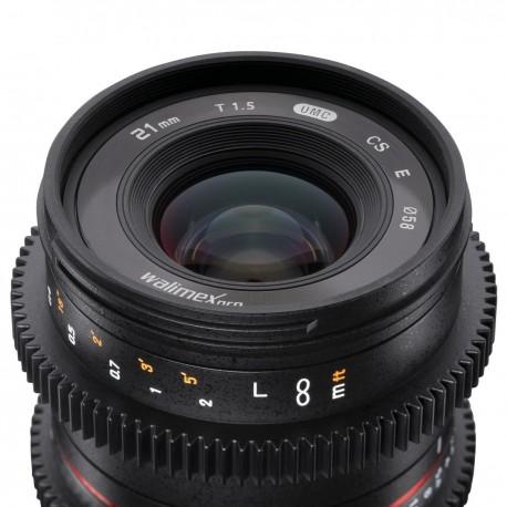 Objektīvi - walimex pro 21/1,5 VCSC Fuji X 21139 - ātri pasūtīt no ražotāja
