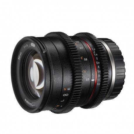 Objektīvi - walimex pro 50/1,3 VCSC Sony E 21146 - ātri pasūtīt no ražotāja