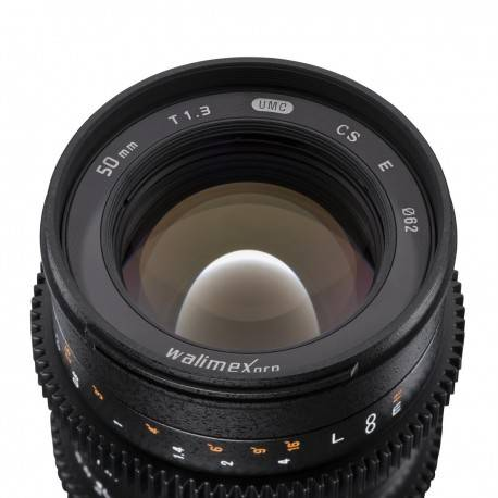 Lenses - walimex pro 50/1,3 Video APS-C MFT - quick order from manufacturer