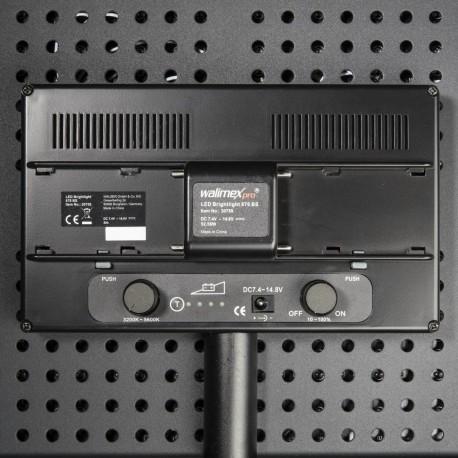 LED панели - walimex pro LED Brightlight 876 BI Color akku set - быстрый заказ от производителя