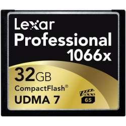 Atmiņas kartes - LEXAR PRO CF 1066X UDMA 7 (VPG-65) R160 32GB - perc šodien veikalā un ar piegādi