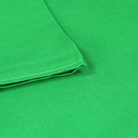 Foto foni - Linkstar Background Cloth BCP-10 2,7x7 m Chroma Green - perc šodien veikalā un ar piegādi