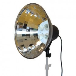 Video dienas gaismas - StudioKing Daylight Lamp FV-430 + Reflector 40 cm - ātri pasūtīt no ražotāja