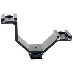 Mikrofoni - Micnova dubultais pēdas stiprinājums 299420 - ātri pasūtīt no ražotāja