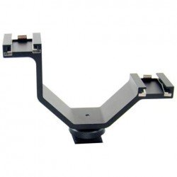 Accessories for microphones - Benel Photo Micnova Twin Mic Mount - quick order from manufacturer