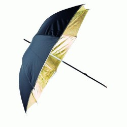 Umbrellas - Linkstar Umbrella PUR-102GB Gold/Black 120 cm - buy today in store and with delivery