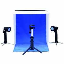 Gaismas kastes - Linkstar Photobox Kit PBK-50 50x50 cm Foldable + 2x50W lamps 565760 - ātri pasūtīt no ražotāja
