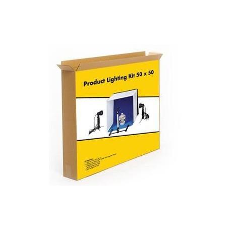 Световые кубы - Linkstar Photo Box Kit PBK-50 50x50 cm Foldable + 2x50W lamps - быстрый заказ от производителя