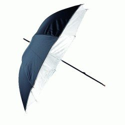 Umbrellas - Linkstar Umbrella PUK-84WB White/Black 100 cm (reversible) - quick order from manufacturer