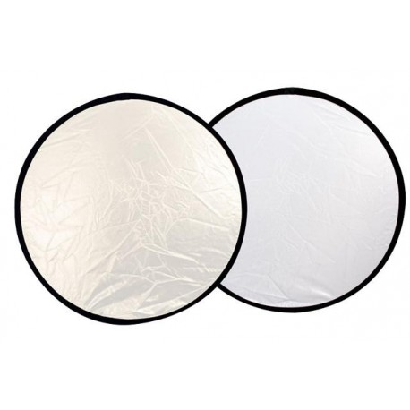 Foldable Reflectors - Falcon Eyes Reflector CFR-42S Silver/White 107 cm - buy today in store and with delivery