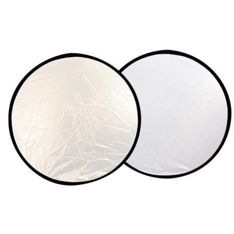 Saliekamie atstarotāji - Linkstar reflektors 2 vienā 60cm, sudrabots/balts (R-60SW) - ātri pasūtīt no ražotāja