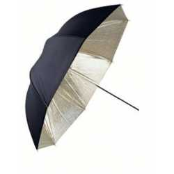 Umbrellas - Linkstar Umbrella PUK-84GB Gold/Black 100 cm (reversible) - quick order from manufacturer