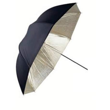 Umbrellas - Linkstar Umbrella PUK-84GB Gold/Black 100 cm (reversible) - quick order from manufacturer