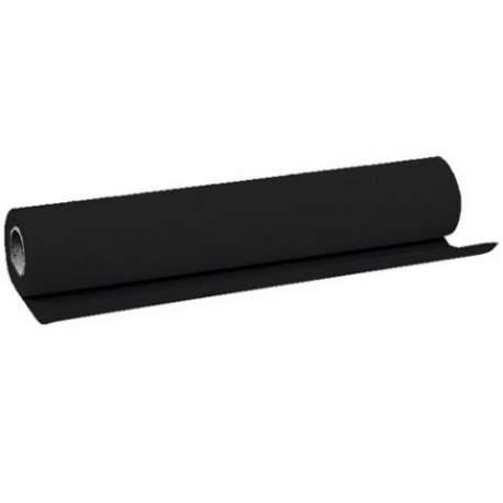 Backgrounds - Linkstar Background Vinyl Black 1.38 x 6,09 m - quick order from manufacturer
