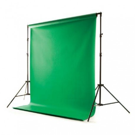 Background holders - Falcon Eyes Background System with Vinyl Chroma Key Green 2,75m - buy today in store and with delivery