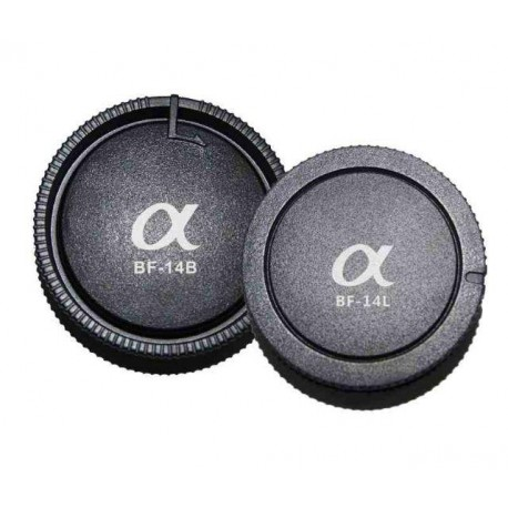 Lens Caps - Pixel Lens Rear Cap BF-14L + Body Cap BF-14B for Sony - buy today in store and with delivery