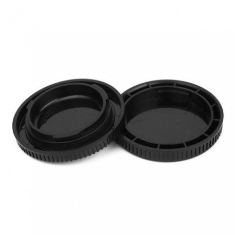 Крышечки - Pixel Lens Rear Cap MC-22B + Body Cap MC-22L for Micro Four Thirds - быстрый заказ от производителя