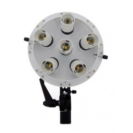 Fluorescējošās - Falcon Eyes LHD-B628FS 6x28W Lamp + Softbox 60x60cm dienas gaisma - perc šodien veikalā un ar piegādi