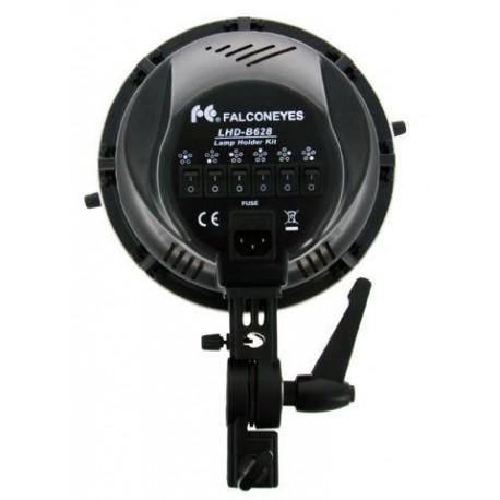 Флуоресцентное освещение - Falcon Eyes LHD-B628FS 6x28W Lamp + Softbox 60x60cm daylight - купить сегодня в магазине и с доставкой