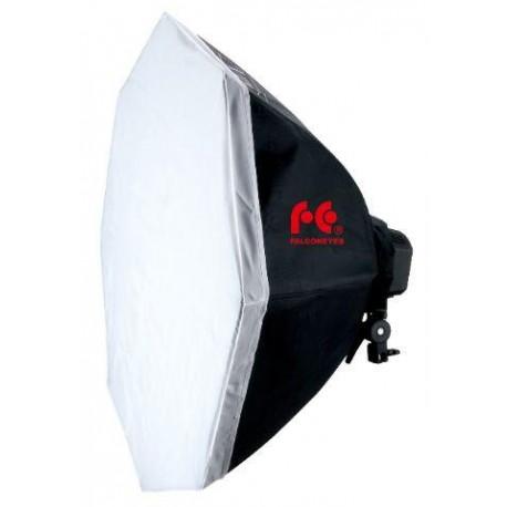 Флуоресцентный - Falcon Eyes LHD-B928FS 9x28W Octabox 80cm daylight - купить сегодня в магазине и с доставкой