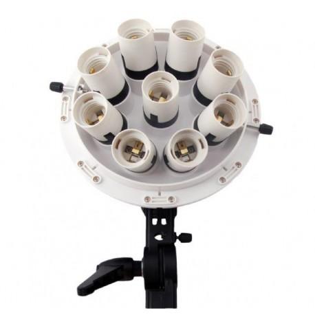 Fluorescējošās - Falcon Eyes Lamp holder + Octabox 80cm LHD-B928FS 9x28W - perc šodien veikalā un ar piegādi