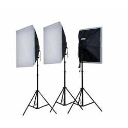 Fluorescent - Falcon Eyes Daylight Set LH-ESB5050K3 3x55W - buy today in store and with delivery