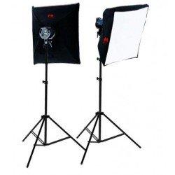 Halogēnās - Falcon Eyes Quartz Lamp Set QLTK-21000 - ātri pasūtīt no ražotāja