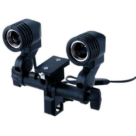 Флуоресцентное освещение - StudioKing Universal E27 Lampholder with 2 Sockets DLE27D - купить сегодня в магазине и с доставкой