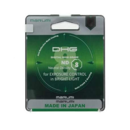 ND neitrāla blīvuma filtri - Marumi Filter DHG Grey ND8x Light Control 82mm - ātri pasūtīt no ražotāja
