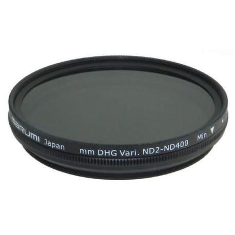 ND фильтры - Marumi Grey Variable Filter DHG ND2-ND400 52 mm - купить сегодня в магазине и с доставкой