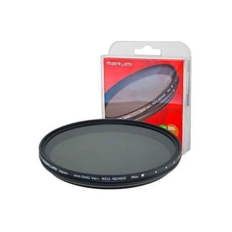 ND фильтры - Marumi Grey Variable Filter DHG ND2-ND400 58 mm - купить сегодня в магазине и с доставкой