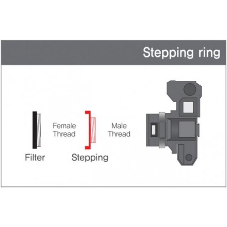 Больше не производится - Matin Step-up Ring Lens 58 mm to Accessory 67 mm