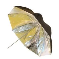 Foto lietussargi - Falcon Eyes Umbrella UR-32SB1 Silver/Black 80 cm - perc šodien veikalā un ar piegādi