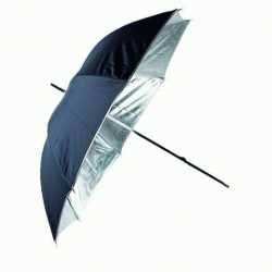 Umbrellas - Linkstar Umbrella PUR-84SB Silver/Black 100 cm - buy today in store and with delivery