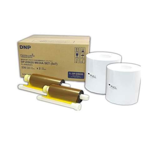 Фотобумага для принтеров - DNP Paper DM57620 2 Rolls а 230 prints. 13x18 for DS620 - быстрый заказ от производителя