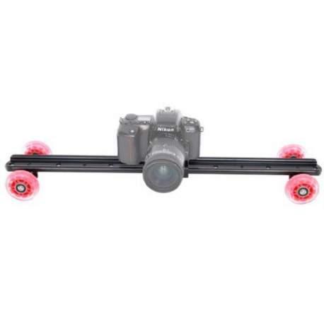 Video sliedes - Falcon Eyes Camera Slider Dolly STK-03 60 cm - ātri pasūtīt no ražotāja