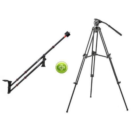 Видео краны - Falcon Eyes Video Stand with Video Travel Jib - быстрый заказ от производителя