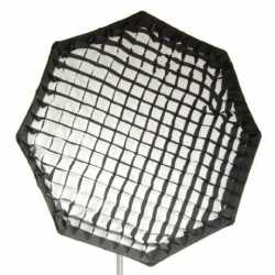 Softboxes - Falcon Eyes Foldable Octabox + Honeycomb Grid FEOB-11HC 110 cm - buy today in store and with delivery