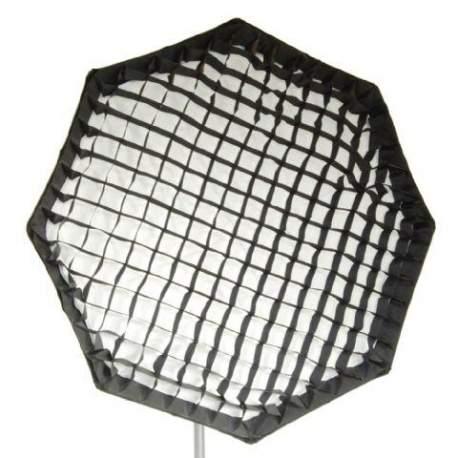 Softboksi - Falcon Eyes Foldable Octabox + Honeycomb Grid FEOB-11HC 110 cm - купить сегодня в магазине и с доставкой