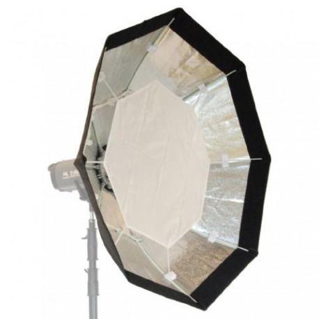 Softboksi - Falcon Eyes Foldable Octabox + Honeycomb Grid FEOB-11HC 110 cm - perc šodien veikalā un ar piegādi