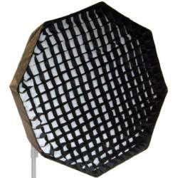 Softboxes - Falcon Eyes Foldable Deep Octabox + Honeycomb Grid FEOB-10EX-HC 100 cm - buy today in store and with delivery