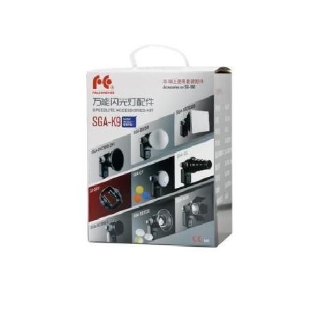 Аксессуары для вспышек - Falcon Eyes Universal Speedlite Flash Gun Strobist Set SGA-K9 - быстрый заказ от производителя