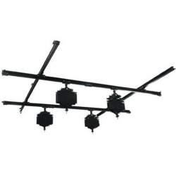 Sliežu stiprināšanas sistēmas - Linkstar Ceiling Rail System 3x3 m with 4 Pantographs - perc šodien veikalā un ar piegādi