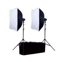 Komplekti - Falcon Eyes Studio Flash Set SSK-2200D with Bag - ātri pasūtīt no ražotāja
