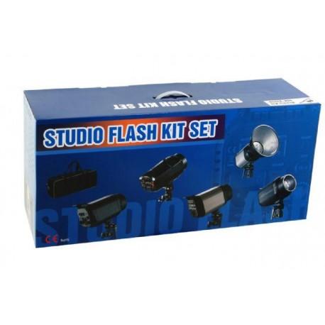 Комплекты студийных вспышек - Falcon Eyes Studio Flash Set SSK-2200D with Bag - быстрый заказ от производителя