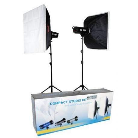 Studijas zibspuldžu komplekti - Falcon Eyes Studio Flash Set TFK-2400A - ātri pasūtīt no ražotāja
